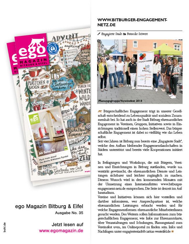 www.bitburger-engagement-netz.de - ego Magazin Artikel downloaden/lesen