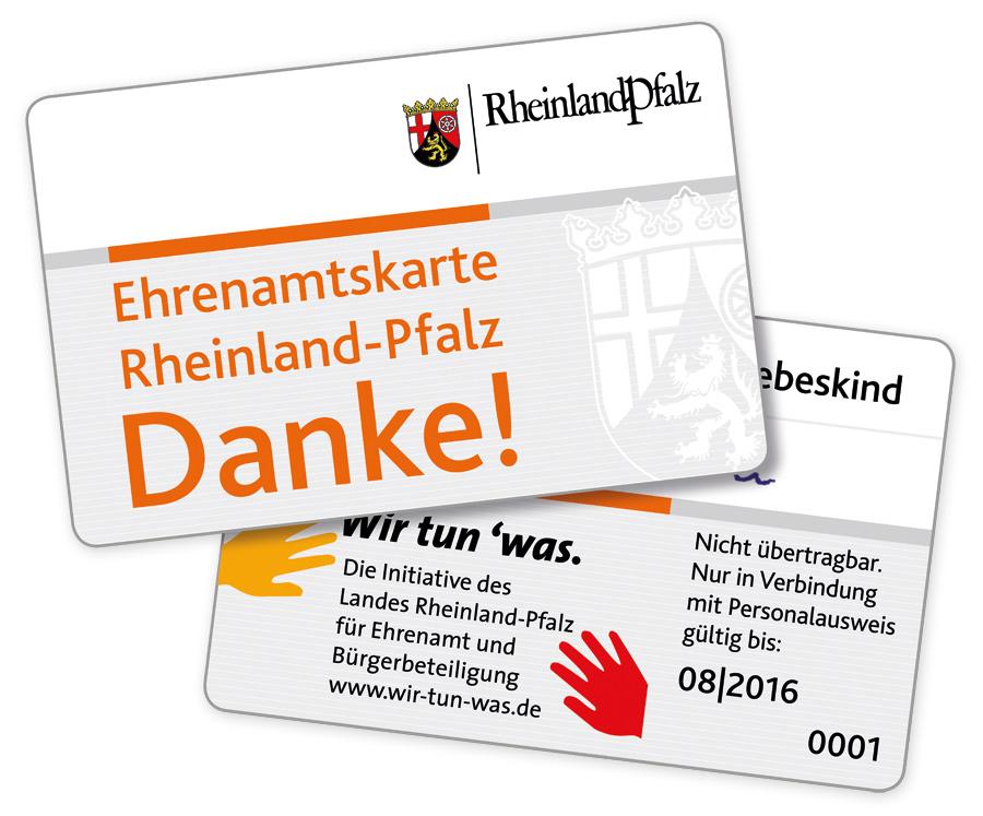 Ehrenamtskarte Rheinland-Pfalz