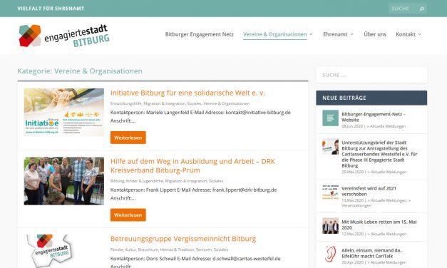 Bitburger-Engagement-Netz – Website