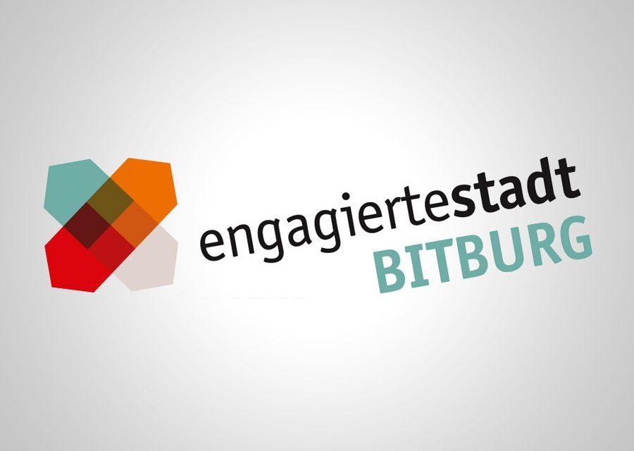 Engagierte Stadt Bitburg – Jubiläumskarte als Würdigung für langjährige Ehrenamtliche